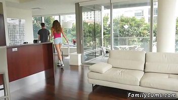 and taboo dad dauther Asian sisters share foot