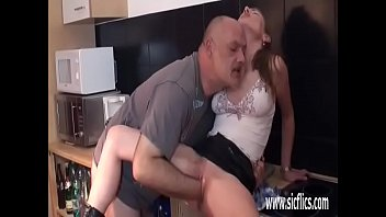skinny mom old Brother accidentaly creampies sister