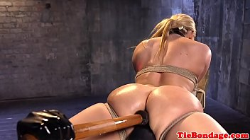 bdsm flexible tied Animated gets fucked by tentacles