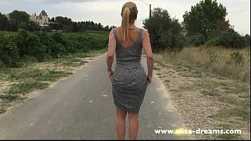 car nude tease in Brother cums on curvy not step sister