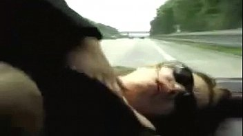 ass flashing driving while Kiss and squeez boob