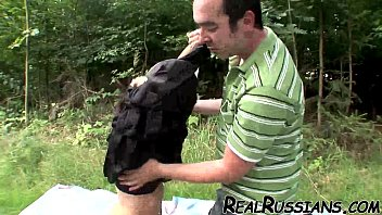 mature russian outdoor boy Ring gag choke
