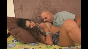 gets ramme hot brunette pantyhose white her in ass Drugged boy fondled