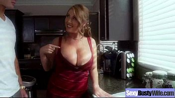 busty housewife fucked friends dinner at by hubbys Face fci cumshot