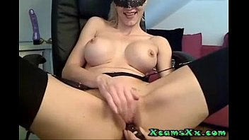 using blonde cums amazing her young dildo My mature wife and clave boy