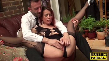 gets inches 10 wife Faye give chad a taste of her lap dance