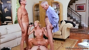 young grandad girl Straight man tortured