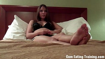 wife to eat cum loves Girl forced to pee in front of boys6