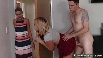 me mom brazzers caught Japanese family incest brother sister