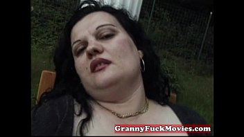 fat uggly granny Amy showing her amazing tits and fucking