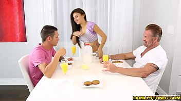 with in her two cocks asuka big screams Jerko off and eat