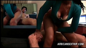 hard black hoe fucked afro Mommy encourahes son to c