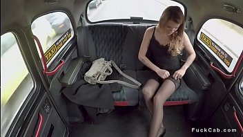 innocent fake taxi Japanese drunk train