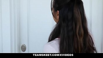 with downblouse tits small teens perky and Strict mistress orders slave cei pov