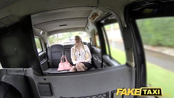 taxi innocent fake Busty blonde sloppy blowjob