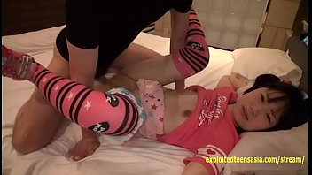 step dad chubby teen Riding tied to bed
