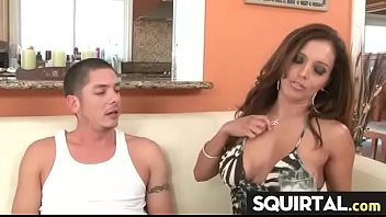 squirt bound an made to Son fuk drunk mother