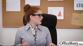girl vid worker sluty 07 hardcore fucked office get His black dick is to big