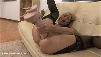 dildo using blonde her young cums amazing Brat girl chastity mindfuck