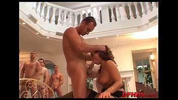 creampie another guys Luscious lizzy gang bang aquad